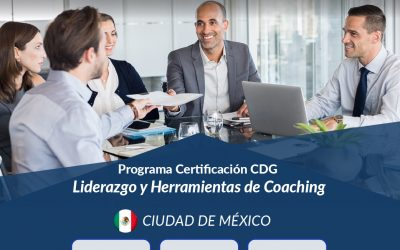 Programa de Certificación CDG Ciudad de México 2019